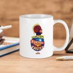 White Mug Captain Marvel Higher Further Faster Premium Sublime Ceramic Coffee Mug Y97