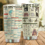 Anatomy of the heart Gift for lover Day Travel Tumbler All Over Print TL97