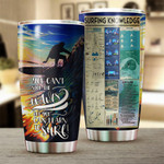 Personalized Surfing Knowledge Gift for lover Day Travel Tumbler All Over Print TL97