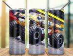 Monster Truck 900 gift for lover Skinny Tumbler TL97