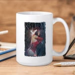 White Mug Marvel Comics Elektra Rain  Premium Sublime Ceramic Coffee Mug Y97