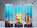 Spongebob cartoon A6868 gift for lover Skinny Tumbler TL97