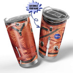 3D Flightsuit Nasa Space Force Astronaut Custom Name  Gift for lover Day Travel Tumbler All Over Print TL97