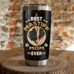 English Mastiff Dog best mastiff mom ever Gift for lover Day Travel Tumbler All Over Print TL97