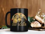 Black Mug Vintage Retro Stay Golden With The Golden Girls Mug Premium Sublime Ceramic Coffee Mug H99