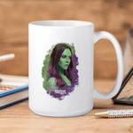 White Mug Marvel Gotg Gamora Portrait Premium Sublime Ceramic Coffee Mug Y97