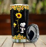 Snoopy  Your are my Sunshine  Gift for lover Day Travel Tumbler All Over Print TL97