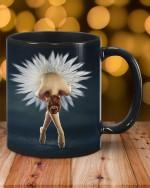 Black mug ballet lovers II Premium Sublime Ceramic Coffee Mug N98