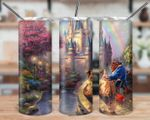 Belle Princess Disney Princess Beauty and Beast 530 gift for lover Skinny Tumbler TL97