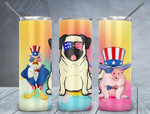 Funny Animals 503 gift for lover Skinny Tumbler TL97