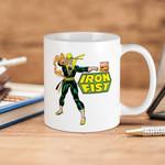 White Mug Marvel Comics Iron Fist Premium Sublime Ceramic Coffee Mug Y97