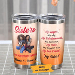 Personalized My Best Friend My Sister BWA Friends  Gift for lover Day Travel Tumbler All Over Print TL97