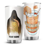 Prayer's Tears Are Best Served Cold Personalized ocean Gift for lover Day Travel Tumbler All Over Print TL97