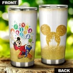 Mickey And Friends magic 999  Gift for lover Day Travel Tumbler All Over Print TL97