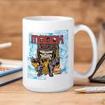 White Mug Marvel Comics Marvel Comics MODOK Retro Premium Sublime Ceramic Coffee Mug Y97