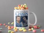 White Mug Chris Evans Signature Mug  Steve Rogers Mug Captain America Mug Johnny Storm Mug Human Torch Mug Premium Sublime Ceramic Coffee Mug H99