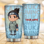Personalized Chibi Iruka Umino naruto anime Gift for lover Day Travel Tumbler All Over Print TL97