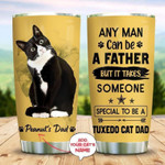 Custom name Cool Cat Dad Gift for lover Day Travel Tumbler All Over Print TL97