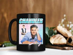 Black Mug Retro Vintage Chandler Bing Mug Matthew Perry Mug Friend TV Shows Mug Premium Sublime Ceramic Coffee Mug H99