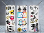 Star wars movies 574 gift for lover Skinny Tumbler TL97