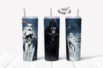 Star Wars movies 528 gift for lover Skinny Tumbler TL97