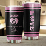 Dog Mom Gift for lover Day Travel Tumbler All Over Print TL97