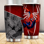 Spider Super Hero 102 Gift for lover Day Travel Tumbler All Over Print TL97