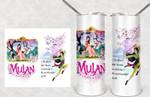 Disney inspired Mulan gift for lover Skinny Tumbler TL97