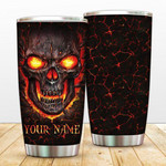 Skull Gift Couple Gift When I Say I Love You gift For Lovers Travel Tumbler All Over Print TL97