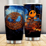 The Nightmare Pumpkin King 102 Gift for lover Day Travel Tumbler All Over Print TL97