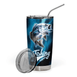 3D Fishing makes me happy  Gift for lover Day Travel Tumbler All Over Print TL97