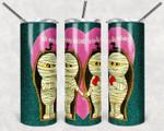 Vintage Valentine Mummy Heart 536 gift for lover Skinny Tumbler TL97