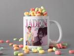 White Mug Jaden Smith Mug Jaden Christopher Syre Smith Mug American Actor, Rap Singer And Dancer Premium Sublime Ceramic Coffee Mug H99