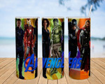 Super Hero Avengers movies A184 gift for lover Skinny Tumbler TL97