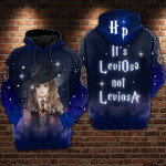Hermione Granger Harry Potter It's LeviOsa not LeviosA 3D All Over Printed Shirt Hoodie Y97