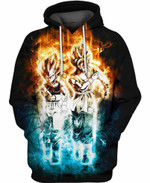 The Ultimate Technique Dragon Ball 3D All Over Printed Shirt Hoodie Y97