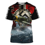 World War Air Focke Wulf Fw 190 3D Hoodie Sweatshirt Zip Hoodie T shirt G95