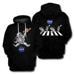 Astronaut Basketball Slam Dunk Abbey Riad 3D All Over Printed Shirt Hoodie G95