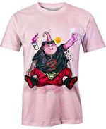 Chubby Majin Buu For Man And Women 3D T Shirt  All Over Printed G95