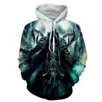 Diablo 3 Reaper of Soul Malthael Death Angel 3D All Over Printed Shirt Hoodie G95