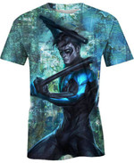 Nightwing For Man And Women 3D T Shirt  All Over Printed G95