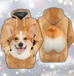 Pembroke Welsh Corgi Dog For Men And Women 3D Hoodie Zip Hoodie Y97
