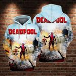 Deadpool Killed Mickey 3D All Over Printed Shirt Hoodie DH
