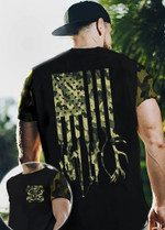 Fishing and Hunting Lovers Camoflage 3D All Over 3D Hoodie Sweatshirt Zip Hoodie T shirt VA95