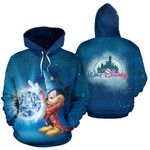 Mickey mouse witch and friends movie walt disney for man and women 3D all over printed hoodie Y97