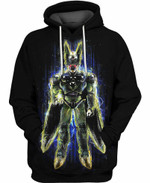 Perfect Cell Future Dragon Ball 3D All Over Printed Shirt Hoodie Y97