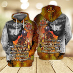 Memorial Day Jesus And Firefighter I Asked God How I can Saved So many People Like you He Sent me A Job Which Is Firefighter 3D Hoodie Zip Hoodie Y97