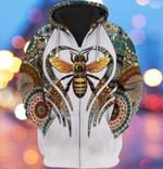 Bee Patterns For Men And Women 3D Hoodie Zip Hoodie Y97