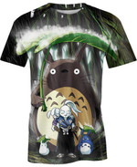 Jotaro and Totoro For Man And Women 3D T Shirt  All Over Printed G95