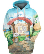 Self drawn pictures of animals 3D All Over Printed Shirt Hoodie Y97